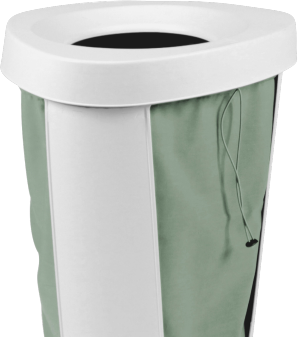 Fabu patented laundry hamper